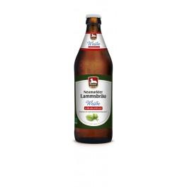Olut Lammsbräu alkoholiton vehnäolut 500 ml LUOMU