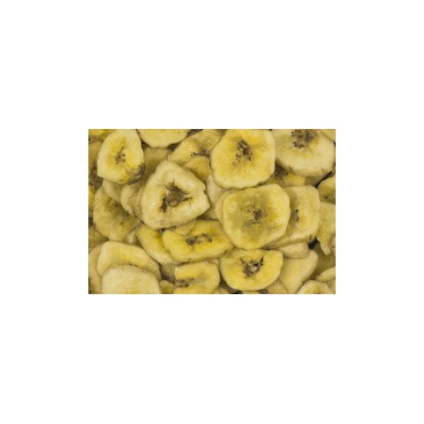 Banaanilastut, mak. sokerilla 1 kg LUOMU