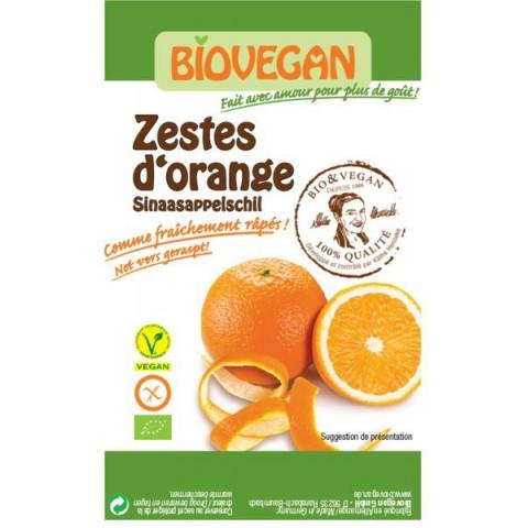 Appelsiininkuori, jauhetttu appelsiiniöljyssä 9 g LUOMU