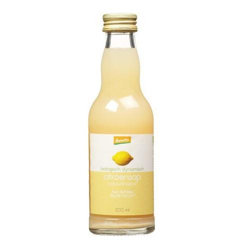 Sitruunamehu biodynaaminen 200 ml LUOMU
