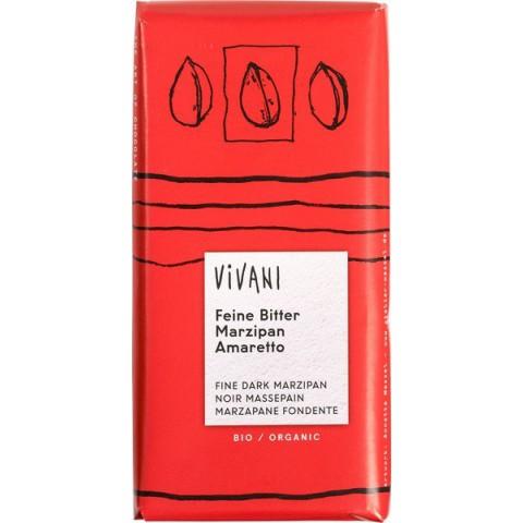 Suklaalevy Vivani marsipaani amaretto 100 g LUOMU
