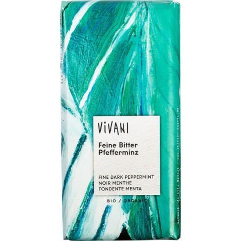Suklaalevy Vivani piparminttu 100 g LUOMU