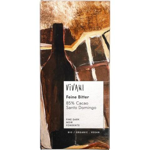 Suklaalevy Vivani tumma 85 % 100 g LUOMU