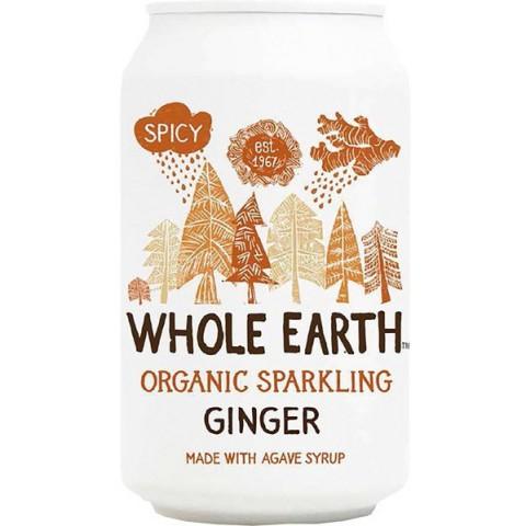 Whole Earth Inkiväärilimu 330 ml LUOMU