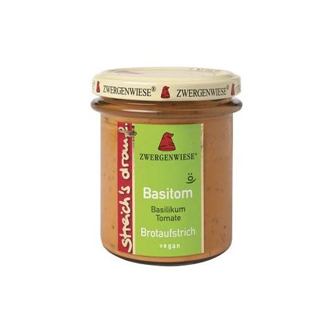 Basilika-tomaatti levite 160 g LUOMU