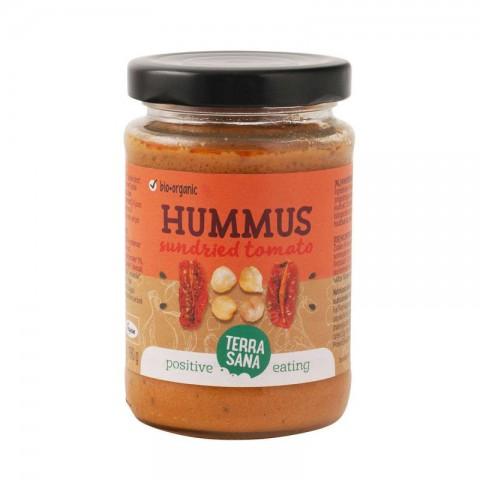 Hummus aurinkokuivatuilla tomaateilla 190 g LUOMU