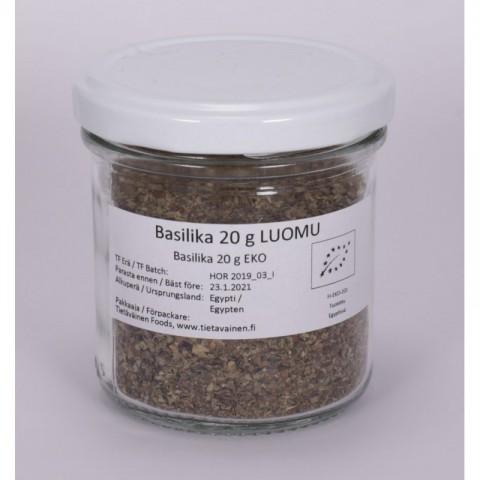Basilika 20 g LUOMU