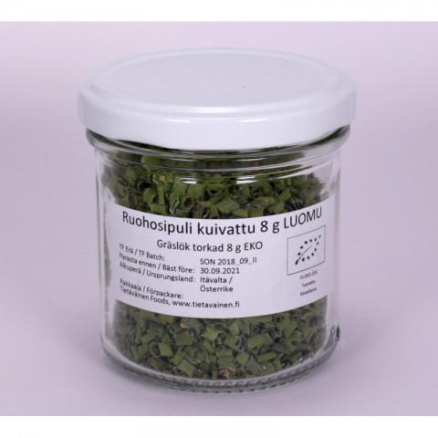 Ruohosipuli kuivattu 8 g LUOMU