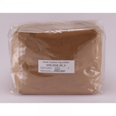 Kaneli, Ceylonin 1 kg LUOMU