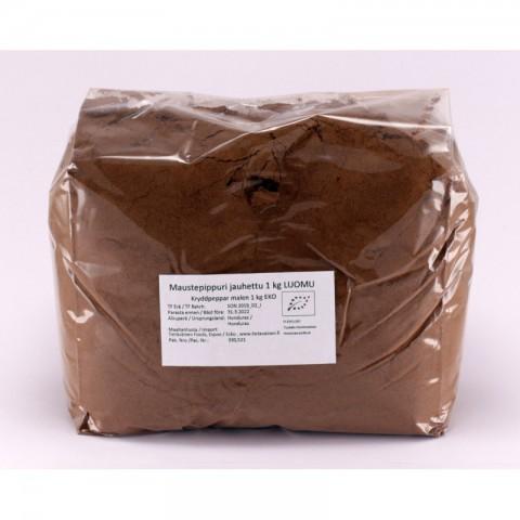 Maustepippuri jauhettu 1 kg LUOMU