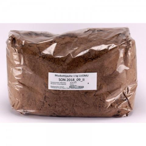Muskottijauhe 1 kg LUOMU