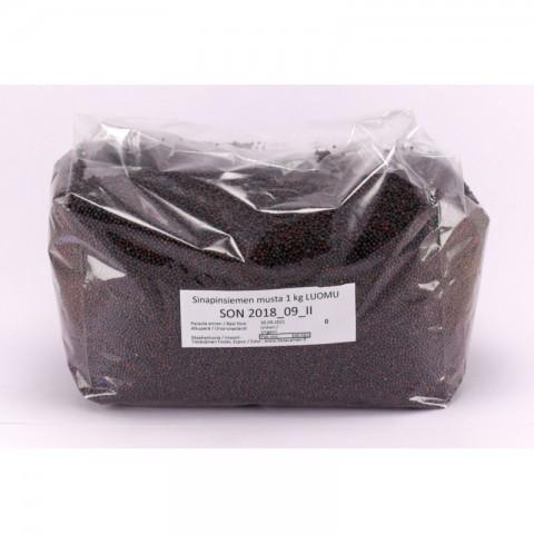 Sinapinsiemen musta 1 kg LUOMU
