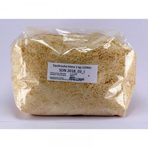Sipulirouhe hieno 1 kg LUOMU