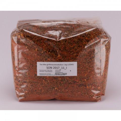 Tex Mex grillimaustesekoitus 1 kg LUOMU