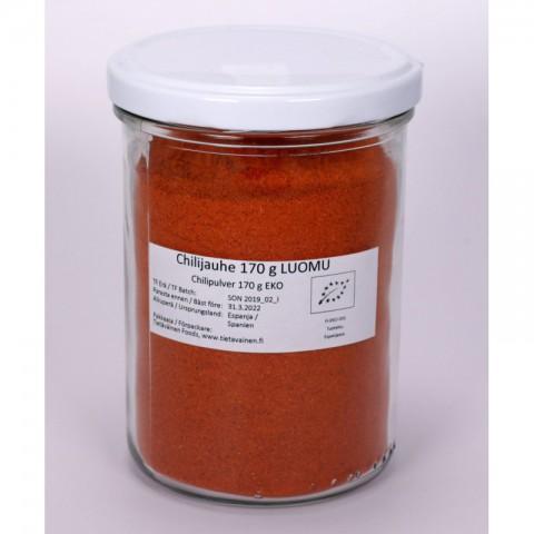 Chilijauhe 170 g LUOMU