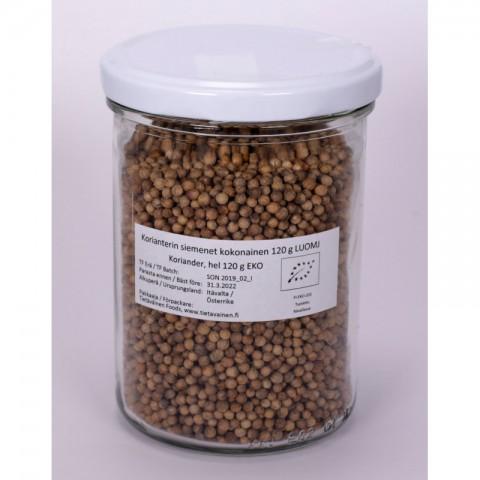 Korianterin siemenet kokonainen 120 g LUOMU