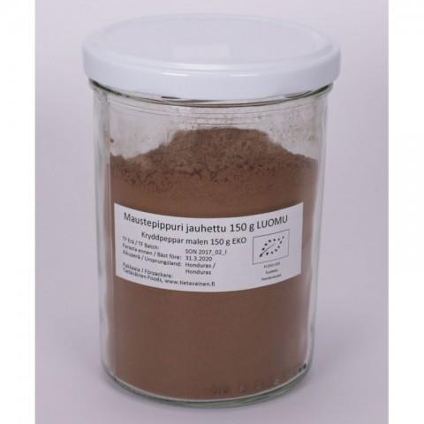 Maustepippuri jauhettu 150 g LUOMU