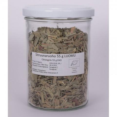 Sitruunaruoho 55 g LUOMU