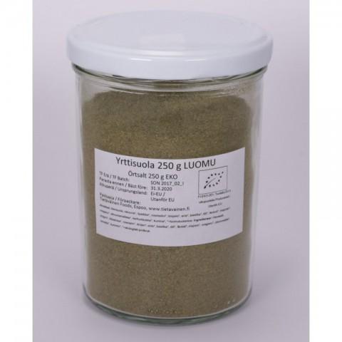 Yrttisuola 250 g LUOMU