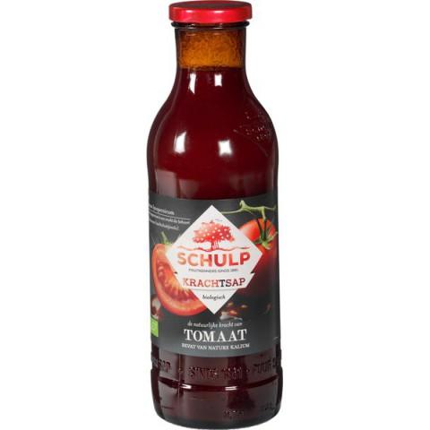 Tomaattimehu lasipullossa Schulp 750 ml LUOMU