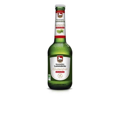 Olut Lammsbräu alkoholiton ja gluteiiniton 330 ml LUOMU