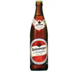 Olut Riedenburger alkoholiton vaalea suodattomaton 500 ml LUOMU