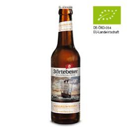 Olut alkoholiton Störtebeker vehnäolut 500 ml LUOMU