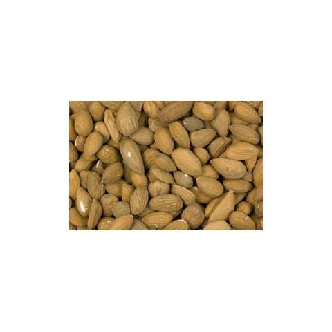 Manteli kuorittu ruskea 1 kg LUOMU