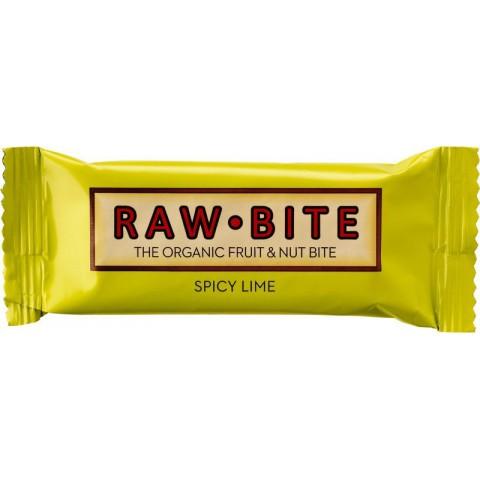 Raakapatukka Raw Bite inkivääri-lime 50 g LUOMU