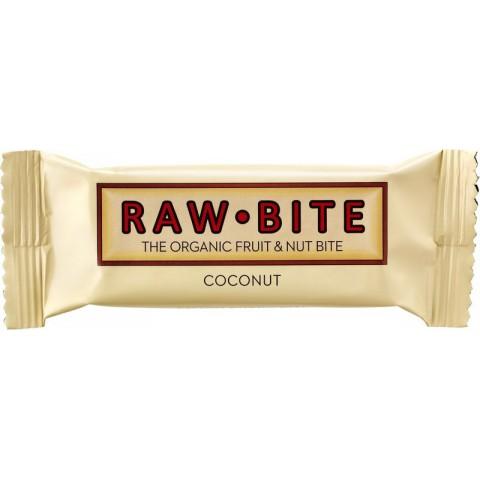 Raakapatukka Raw Bite kookos 50 g LUOMU