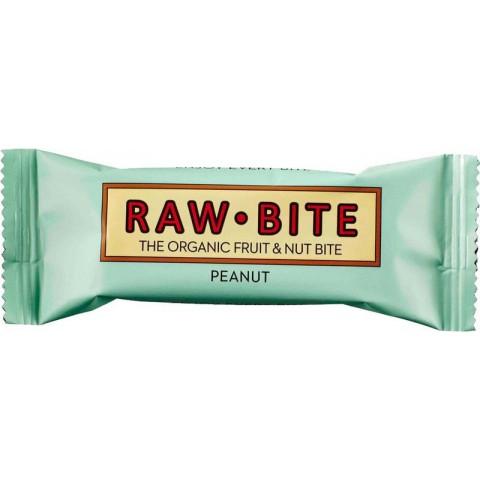 Raakapatukka Raw Bite maapähkinä 50 g LUOMU