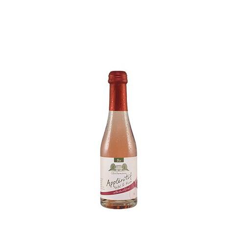 Kuohuviini omena ja ruusu alkoholiton 200 ml LUOMU