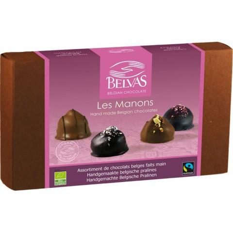 Belgialaiset suklaakonvehdit Les Manons 100 g LUOMU