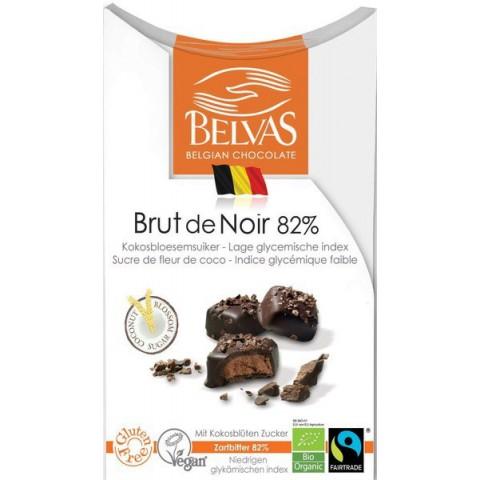 Belgialaiset suklaapalat Brut de Noir  100 g LUOMU
