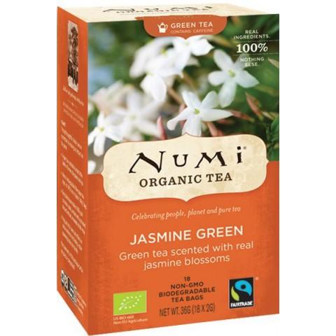 Numi tee jasmiini vihreä tee 18 pussia LUOMU